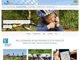 Radwanderkarte Bayernnetz für Radler kostenfrei bestellen
