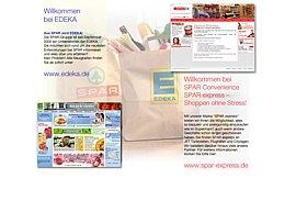Spar express verschenkt Logos und Movies