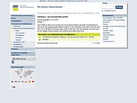 Deutsche Rentenversicherung: Arbeitslos - was Sie beachten sollten