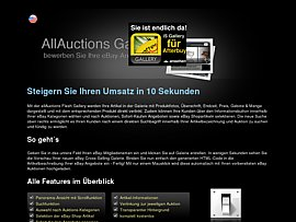 allAuctions Flash Gallery- eBay Cross Selling Gallery