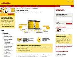 DHL: Packstation-Service - Bis zu 1 Euro Preisvorteil beim Paketversand