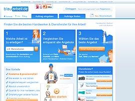 Blauarbeit - Marktplatz für Handwerksaufträge und Dienstleistungen