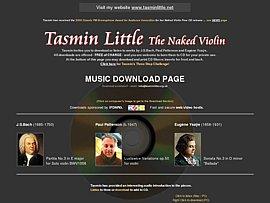 Tasmin Little stellt kostenloses Album ins Netz