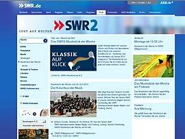 SWR2 bietet Klassik-Produktionen zum Download