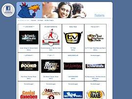 Freikarten zu Fernsehproduktionen