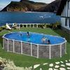 Progress Santorini Dream Pool oval 730 x 375 x 132 cm