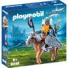 Playmobil Zwerg und Pony mit Rüstung / Knights (9345)