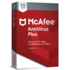 McAfee AntiVirus Plus 10 Device (Code in a Box)