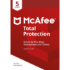 McAfee Total Protection 5 Device (Code in a Box)