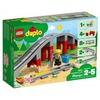 Lego Duplo Eisenbahnbrücke und Schienen / Stadt (10872)