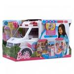 Mattel Krankenwagen Spielset - Puppe mit Licht und Geräuschen