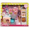 Barbie Supermarkt Spielset und Puppe