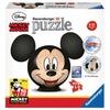 Ravensburger Disney - Mickey Mouse mit Ohren (72 Teile, Puzzleball)