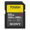 Sony SDXC Pro Tough 64GB Class 10 UHS-II U3 - 300 MB/s