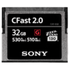 Sony CFast 2.0 32GB Compact Flash, 32GB, 530 MB/s