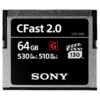 Sony CFast 2.0 64GB Compact Flash, 64GB, 530 MB/s