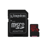 Kingston Canvas React Micro-SD, 100 MB/s, 512GB UHS Class 3