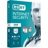 ESET Internet Security Vollversion MiniBox inkl. Update 2021* - 3 Geräte, 1 Jahr (Code in a Box)