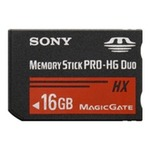 Sony Memory Stick Pro HG Duo HX 16GB 50MB/s