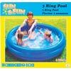 The Toy Company Sun & Fun Pool mit 3 Ringen 127 cm