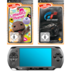 Sony Ericsson PSP E 1000 schwarz inkl. Gran Turismo & Little Big Planet