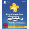 Sony PSN PlayStation Plus Card 90 Tage (PSN,PS3,PS4)