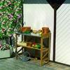 Promadino Pflanztisch klappbar mit verzinkter Arbeitsfläche